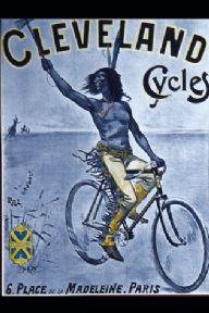 Cleveland cycles advertisment poster, Paris